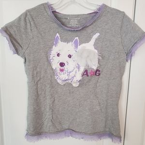 LITTLE GIRLS XL(18-20) Authentic American Girl top